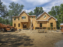 дом конструкции новая Стоковое фото RF