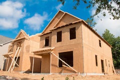 дом конструкции новая Стоковые Фотографии RF