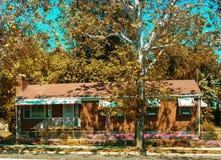 дом красного кирпича Стоковое Фото