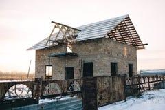 дом незаконченная Стоковые Фото