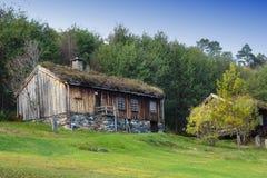 дом Норвегия старая Стоковые Фотографии RF