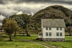дом Норвегия Стоковое Фото