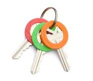 дом пользуется ключом 3 Стоковое Фото