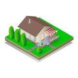 дом равновеликая Стоковая Фотография