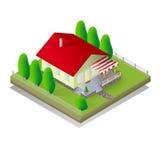 дом равновеликая Стоковое фото RF