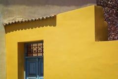 дом светя малой зиме солнца Стоковые Изображения