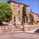 дом средневековая Стоковые Изображения