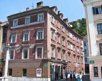 дом старая ljubljana Стоковое Изображение