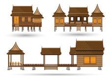 дом тайская Стоковая Фотография