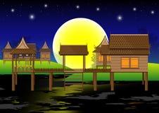 дом тайская Стоковая Фотография RF
