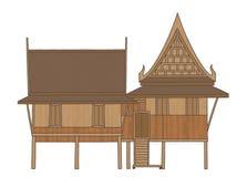дом тайская Стоковые Фотографии RF