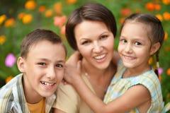 она мать малышей Стоковое Фото