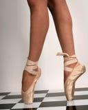 она пальцы ноги Стоковые Фотографии RF
