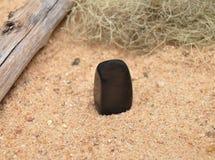 Оникс на пляже Стоковое Изображение