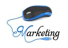 Онлайн маркетинг иллюстрация вектора