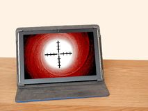 Онлайн успех полета дела цели интернета Стоковая Фотография RF