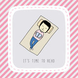 Оно время s к read1 Стоковые Изображения RF