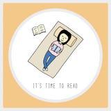 Оно время s к read2 Стоковое Изображение