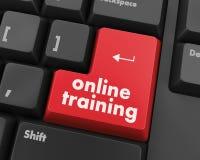 Онлайн обучение Стоковое Фото