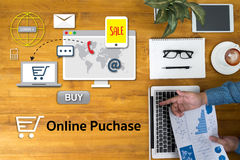 Онлайн приобретение добавляет к магазину покупки магазина заказа тележки онлайн онлайн бесплатная иллюстрация