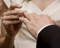он венчание кольца Стоковое Фото
