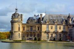 Он замок de Chantilly Стоковое Фото