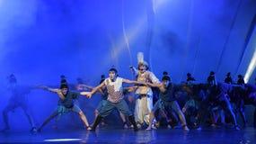 """Он заплакал предупреждение по мере того как шлюпка поразила мечту """"The драмы утес-танца морского Silk  Road†Стоковая Фотография RF"""