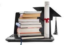 Он-лайн образование Стоковое Изображение