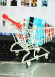 он-лайн покупка Стоковое Изображение RF