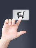 он-лайн покупка стоковые изображения