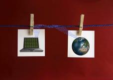 он-лайн Стоковое Изображение RF