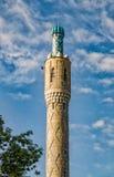 Он минарет мечети Санкт-Петербурга Стоковое Изображение
