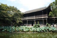 Он садовничает в Янчжоу Стоковая Фотография