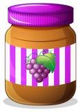 Опарник варенья виноградины бесплатная иллюстрация