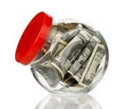 Опарник денег Стоковое Фото