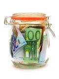 Опарник денег Стоковое Изображение
