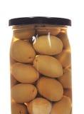 Опарник заповедников абрикоса изолированных на белизне стоковое фото