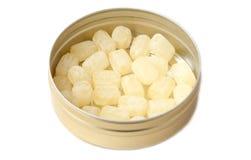 Опарник конфеты изолированный на белой предпосылке Стоковая Фотография RF