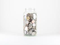 Опарник монетки Стоковое Изображение RF