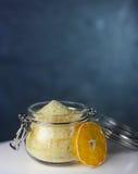 Опарник оранжевого сахара Стоковые Изображения RF