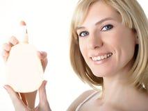 опарник руки косметик Стоковая Фотография RF
