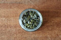 Опарник семян тыквы Стоковая Фотография RF