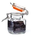 Опарник черного чая Стоковое Фото