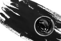Опарник черной краски Стоковые Изображения