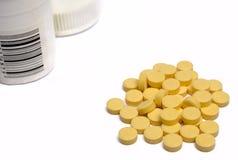 опарник tablets желтый цвет Стоковые Фото