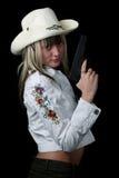 опасная девушка стоковое фото rf