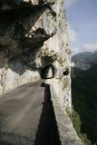 опасная дорога Стоковые Изображения