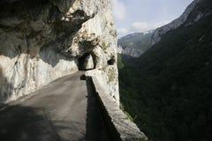 опасная дорога Стоковые Фотографии RF