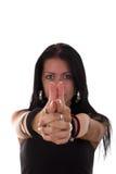 Опасная девушка Стоковое Фото