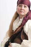 опасная женщина пирата Стоковые Изображения RF